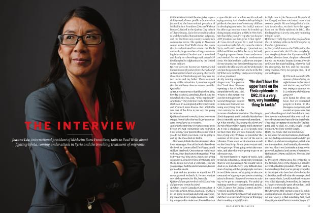 Article Preview: THE INTERVIEW, JULY 2019 | Maclean's