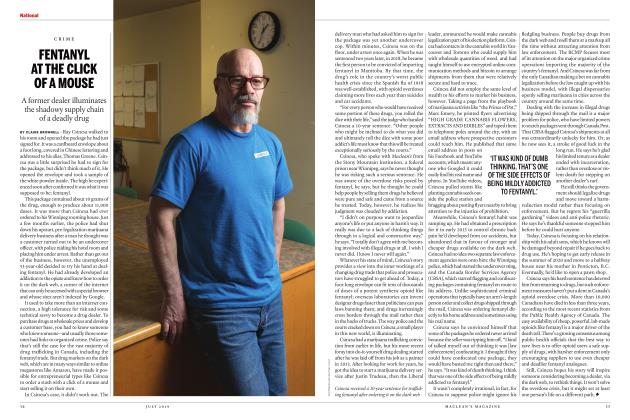 Article Preview: FENTANYL AT THE CLICK OF A MOUSE, JULY 2019 | Maclean's