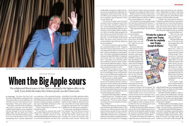 Article Preview: When the Big Apple sours, JULY 2019 | Maclean's