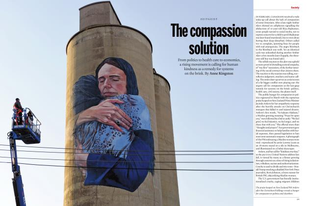Article Preview: The compassion solution, JULY 2019 | Maclean's