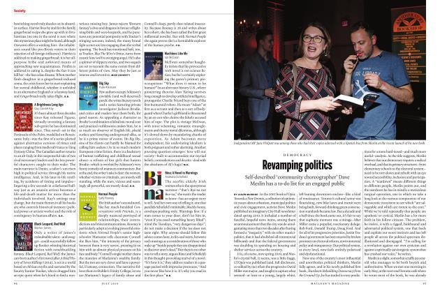 Article Preview: Bina: A Novel in Warnings, JULY 2019 | Maclean's