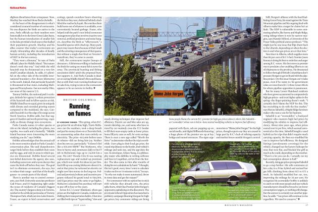 Article Preview: Running on fumes, JULY 2019 | Maclean's
