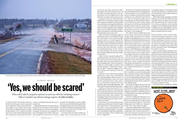 Article Preview: 'Yes, we should be scared', AUGUST 2019 | Maclean's