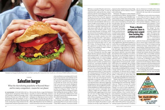 Article Preview: Salvation burger, AUGUST 2019 | Maclean's
