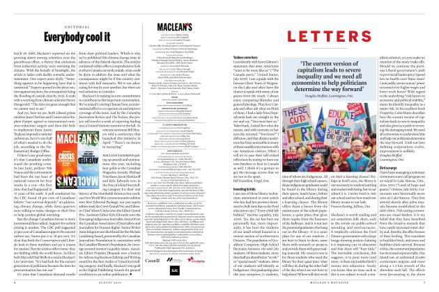 Article Preview: LETTERS, AUGUST 2019 | Maclean's
