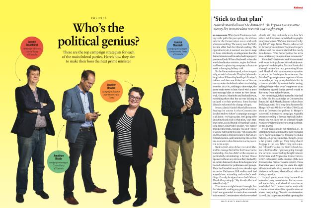 Article Preview: 'Stick to that plan', SEPTEMBER 2019 | Maclean's