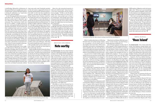 Article Preview: 'Hoax Island', SEPTEMBER 2019 | Maclean's
