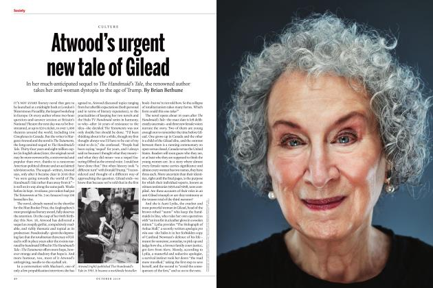Article Preview: Atwood's urgent new tale of Gilead, OCTOBER 2019 | Maclean's