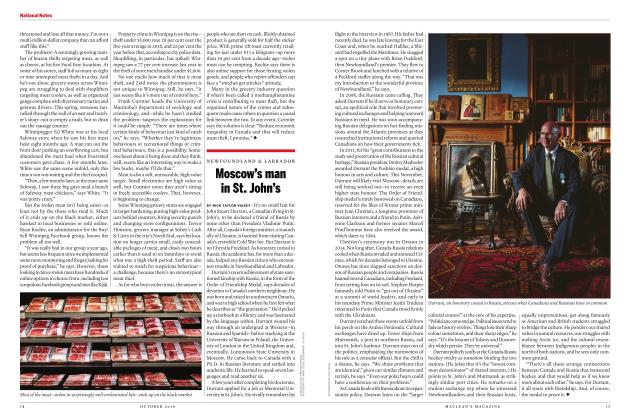 Article Preview: Moscow's man in St. John's, OCTOBER 2019   Maclean's