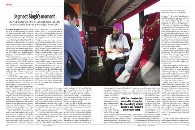 Article Preview: Jagmeet Singh's moment, NOVEMBER 2019 | Maclean's