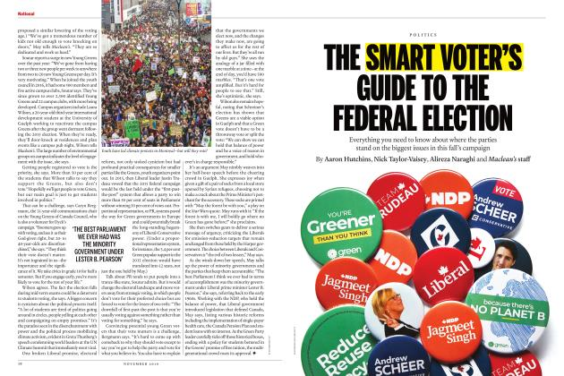 Article Preview: THE SMART VOTER'S GUIDE TO THE FEDERAL ELECTION, NOVEMBER 2019 | Maclean's