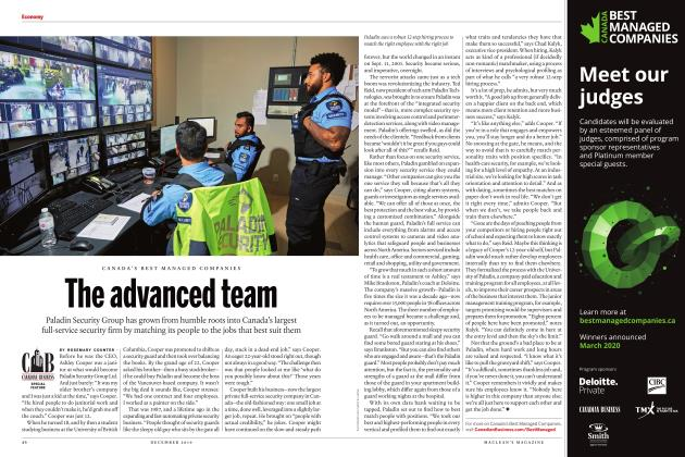 Article Preview: The advanced team, DECEMBER 2019 | Maclean's