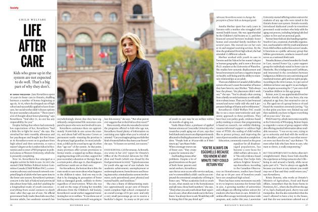 Article Preview: LIFE AFTER CARE, DECEMBER 2019 | Maclean's