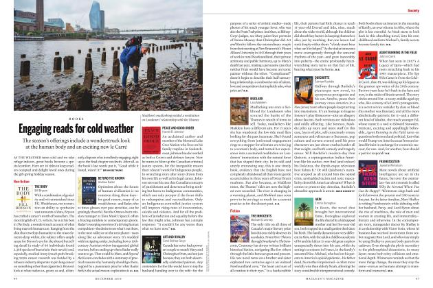 Article Preview: Engaging reads for cold weather, DECEMBER 2019 | Maclean's