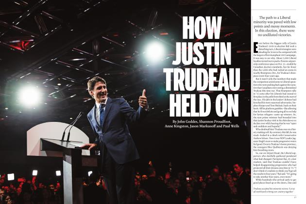 Article Preview: HOW JUSTIN TRUDEAU HELD ON, DECEMBER 2019 | Maclean's