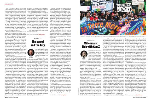Article Preview: Millennials: Side with Gen Z, JANUARY 2020 | Maclean's