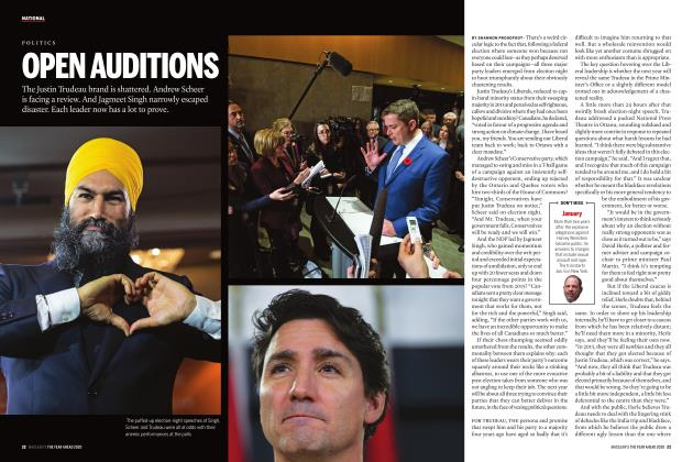 Article Preview: OPEN AUDITIONS, JANUARY 2020 | Maclean's