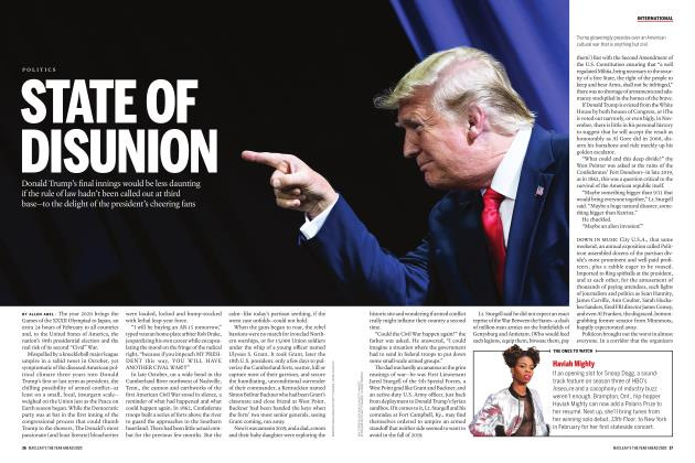 Article Preview: STATE OF DISUNION, JANUARY 2020 | Maclean's