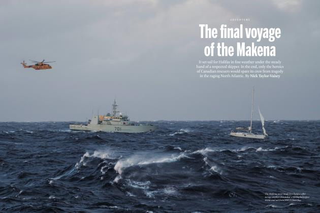 Article Preview: The final voyage of the Makena, FEBRUARY 2020 | Maclean's