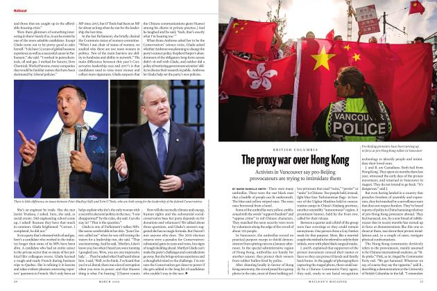 Article Preview: The proxy war over Hong Kong, March 2020 | Maclean's
