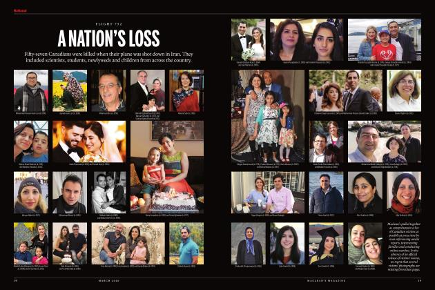 Article Preview: A NATION'S LOSS, March 2020 | Maclean's