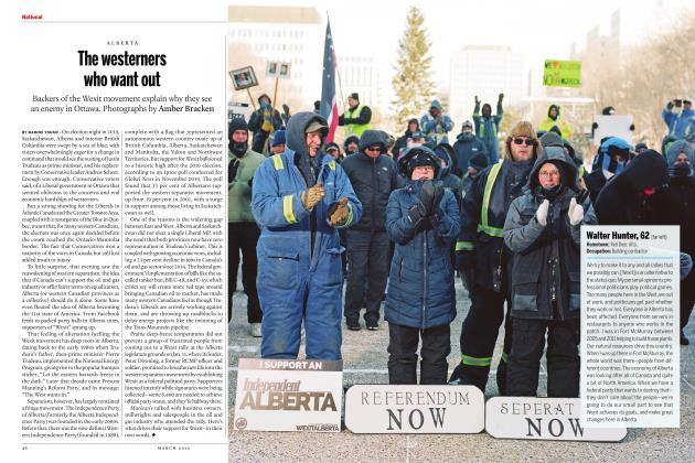 Article Preview: The westerners who want out, March 2020 | Maclean's