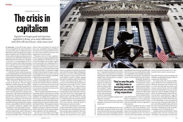 Article Preview: The crisis in capitalism, March 2020 | Maclean's