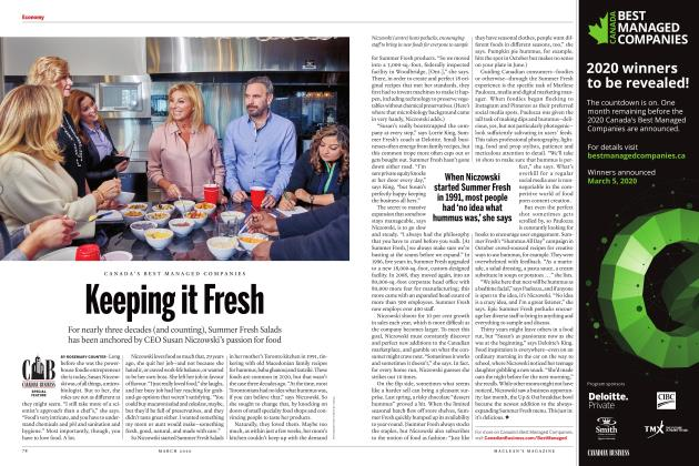 Article Preview: Keeping it Fresh, March 2020 | Maclean's
