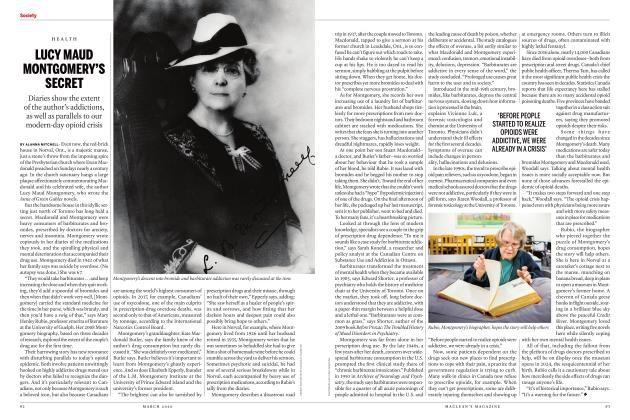 Article Preview: LUCY MAUD MONTGOMERY'S SECRET, March 2020 | Maclean's