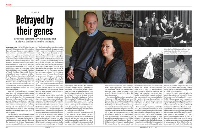 Article Preview: Betrayed by their genes, March 2020 | Maclean's