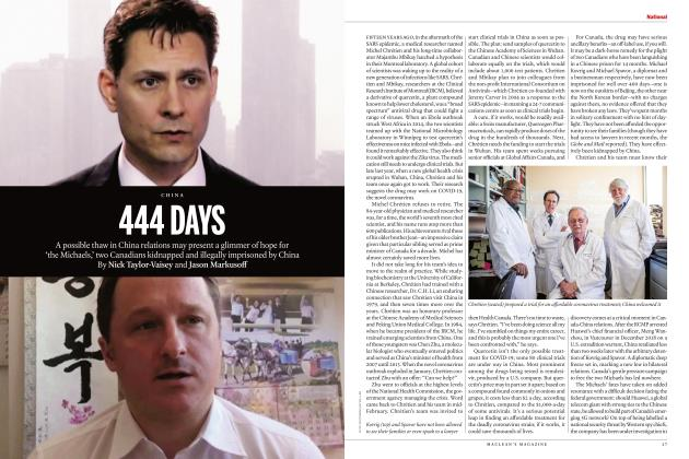 Article Preview: 444 DAYS, APRIL 2020 | Maclean's
