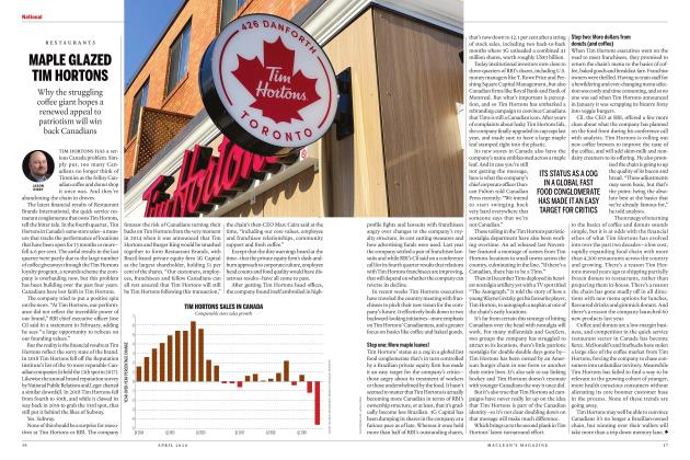 Article Preview: MAPLE GLAZED TIM HORTONS, APRIL 2020 | Maclean's