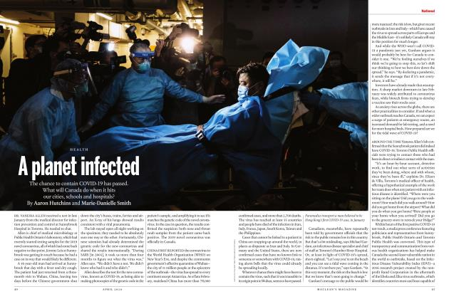 Article Preview: A planet infected, APRIL 2020 | Maclean's