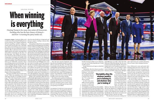 Article Preview: When winning is everything, APRIL 2020 | Maclean's