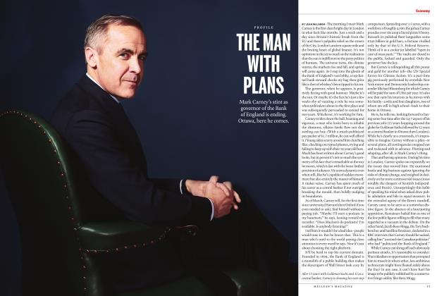 Article Preview: THE MAN WITH PLANS, APRIL 2020 | Maclean's