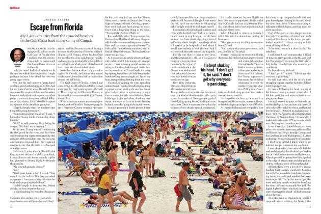 Article Preview: Escape from Florida, MAY 2020 | Maclean's