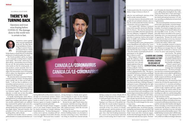 Article Preview: THERE'S NO TURNING BACK, MAY 2020 | Maclean's