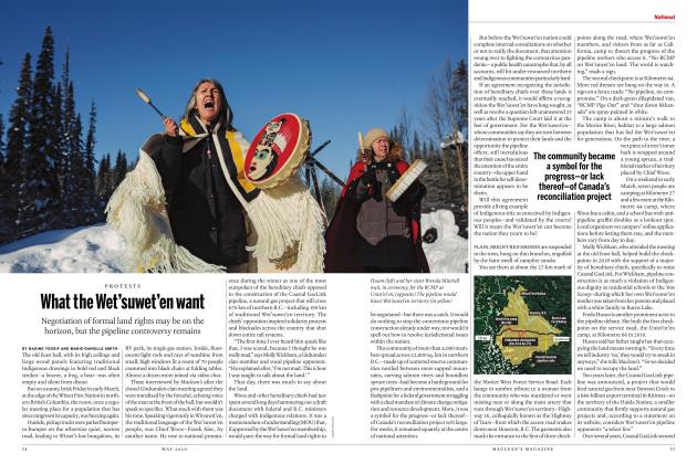 Article Preview: What the Wet'suwet'en want, MAY 2020 | Maclean's