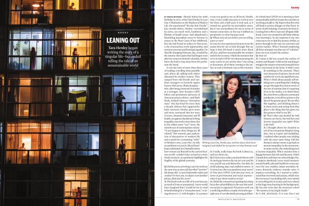 Article Preview: LEANING OUT, MAY 2020 | Maclean's