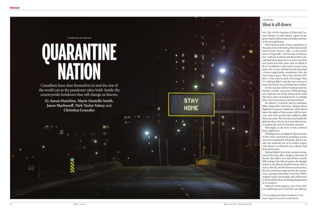 Article Preview: QUARANTINE NATION, MAY 2020 | Maclean's