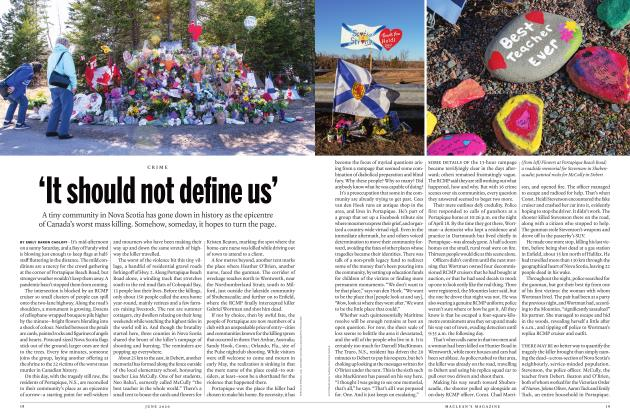 Article Preview: 'It should not define us', JUNE 2020 | Maclean's