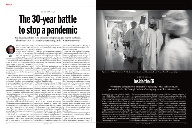 Article Preview: The 30-year battle to stop a pandemic, JUNE 2020 | Maclean's