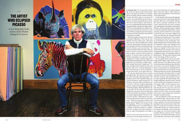 Article Preview: THE ARTIST WHO ECLIPSED PICASSO, JUNE 2020 | Maclean's