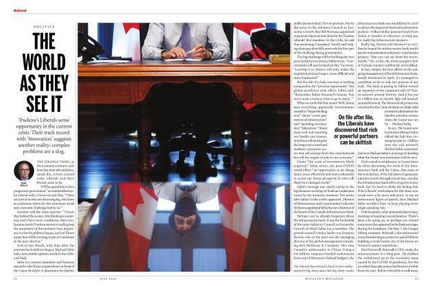 Article Preview: THE WORLD AS THEY SEE IT, JULY 2020 | Maclean's