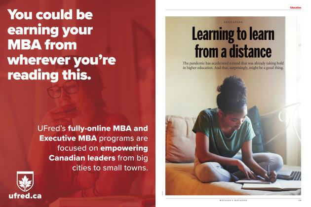 Article Preview: Learning to learn from a distance, JULY 2020 | Maclean's