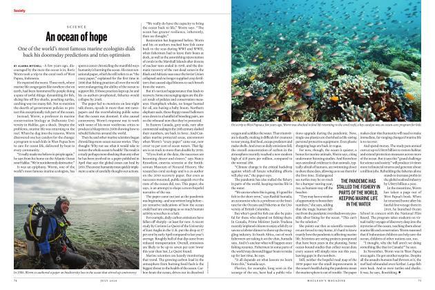 Article Preview: An ocean of hope, JULY 2020 | Maclean's