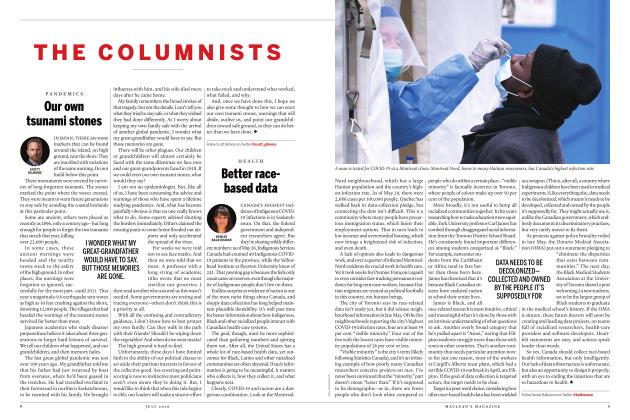 Article Preview: Better racebased data, JULY 2020 | Maclean's