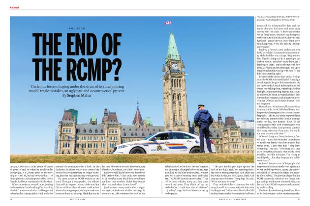 Article Preview: THE END Of THE RCMP?, AUGUST 2020 | Maclean's