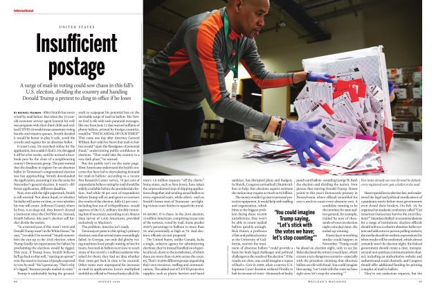 Article Preview: Insufficient postage, AUGUST 2020 | Maclean's