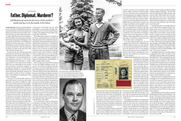 Article Preview: Father. Diplomat. Murderer?, AUGUST 2020 | Maclean's